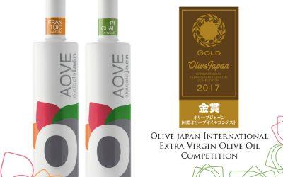 Doble ORO y plata en Olive Japan 2017