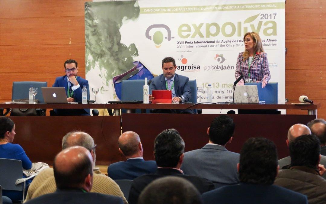 EL GRUPO OLEÍCOLA JAÉN DA A CONOCER SU PLAN ESTRATÉGICO EN EL MARCO DE EXPOLIVA 2017