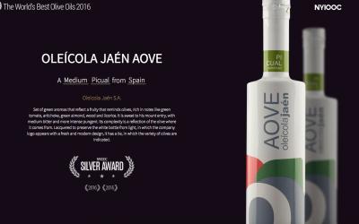 Oleícola Jaén AOVE premiado en Estados Unidos