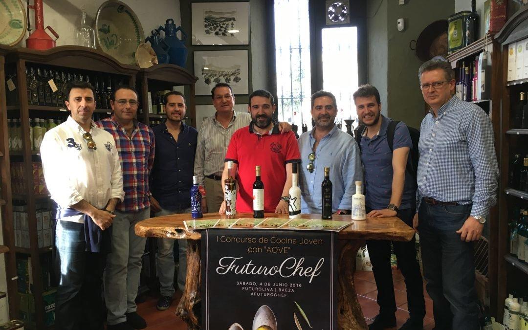 Oleícola Jaén participará en FuturoChef apadrinando a Javier Blázquez