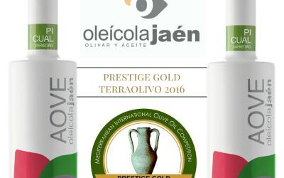 Oleícola Jaén gana Prestige Gold en Terraolivo