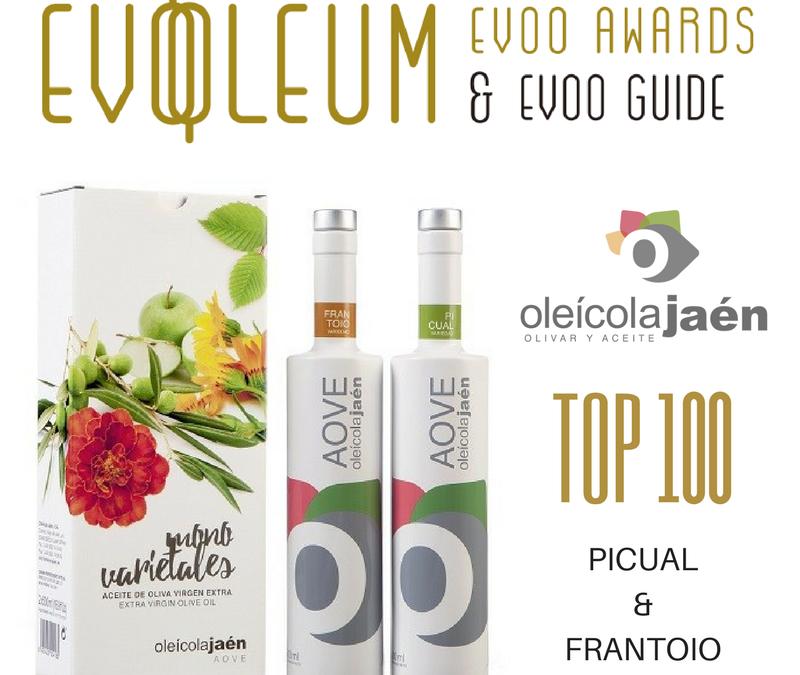 Oleícola Jaén AOVE, en la guía EVOOLEUM 2018