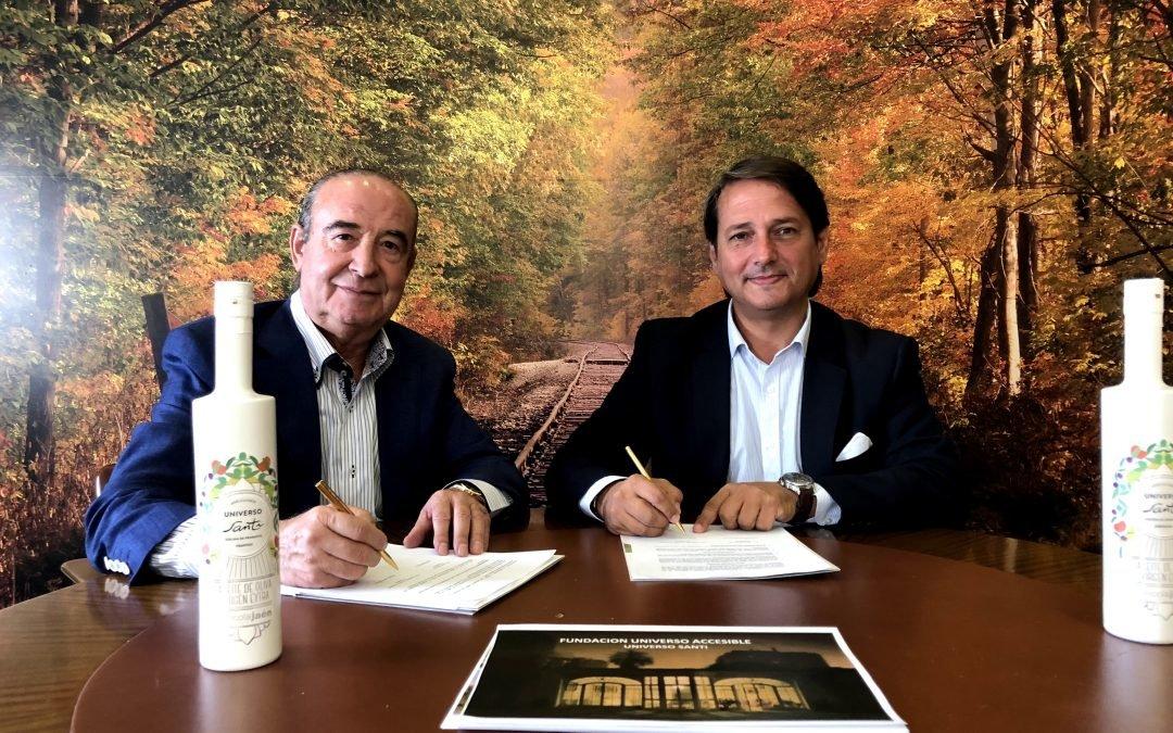 Grupo Oleícola Jaén, nuevo patrocinador del Restaurante Universo Santi
