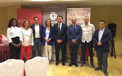 """Grupo Oleícola Jaén, se muestra como ejemplo en el encuentro jiennense de """"Sucesión y protocolo en la empresa familiar"""""""