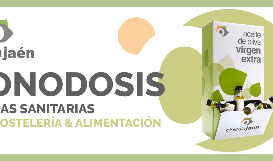 Monodosis de Aceite de Oliva Virgen Extra Premium como medida sanitaria para la alimentación y la hostería.